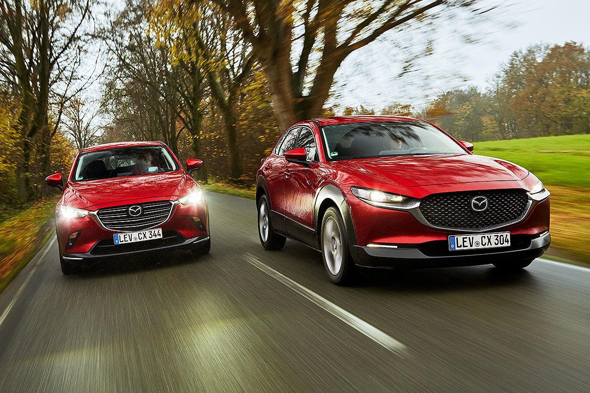 Mazda CX-3 vs. CX-30