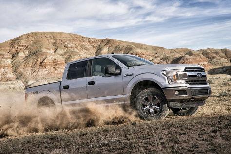 Ford F-150: Patent für Allradlenkung