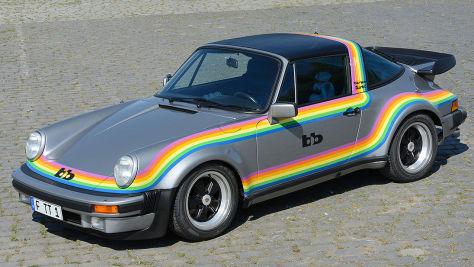 Porsche 911 Turbo Targa (1976): bb