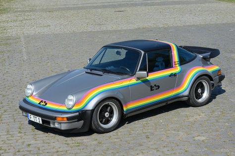 Porsche 911 Turbo Targa (1976): bb, Regenbogen, G-Modell