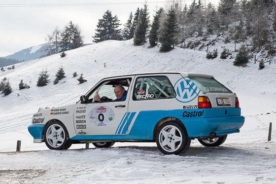 VW Golf 2 G60 Rallye: 4x4, Weber/Hiemer, Stuck