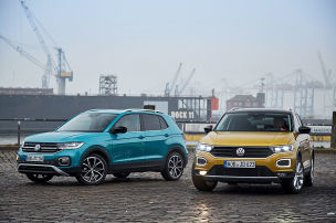VW T-Cross vs. VW T-Roc