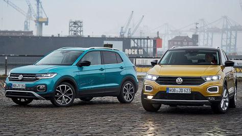 VW T-Cross vs. VW T-Roc