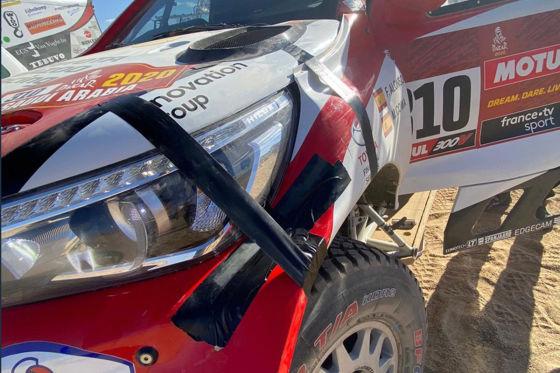 Dakar-Pech für Alonso