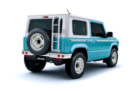 Der Suzuki Jimny wird zum mini-Bronco