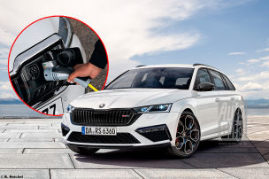 Octavia RS auch als Plug-in-Hybrid?