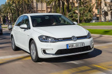 VW e-Golf: längere Laufzeit und günstigerer Preis