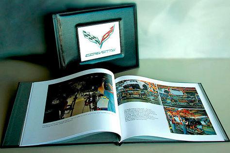 Chevrolet Corvette C8: Teures Fotobuch