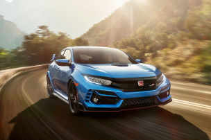 Facelift f�r den Honda Civic Type R