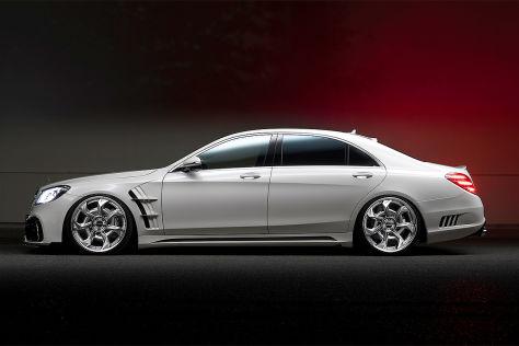 "Mercedes S-Klasse Tuning: Wald International ""Black Bison"""
