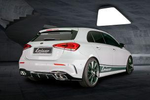 Sportauspuff für den Mercedes A 160