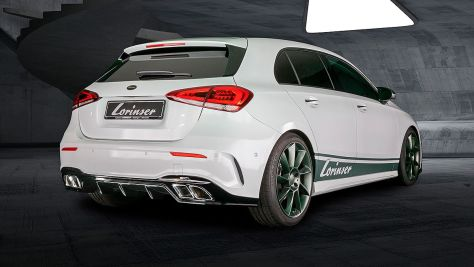 Mercedes A-Klasse: Lorinser