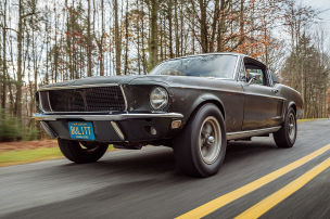"""Ford Mustang """"Bullitt"""" versteigert"""