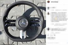 Was für ein Mercedes-Lenkrad ist das?