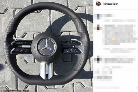 Mercedes S-Klasse (2020): Leak, Lenkrad