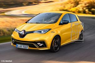Scharfer Elektro-Zwerg von Renault