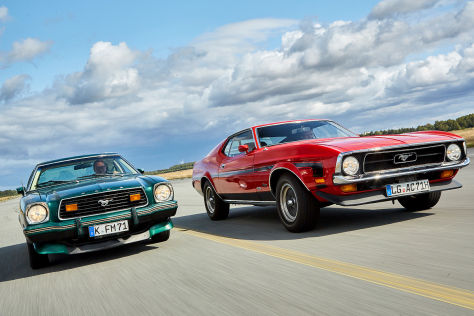 Modellvergleich: Ford Mustang, Mustang II