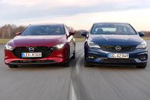 Mazda3, Opel Astra: Test, Motor, Preis