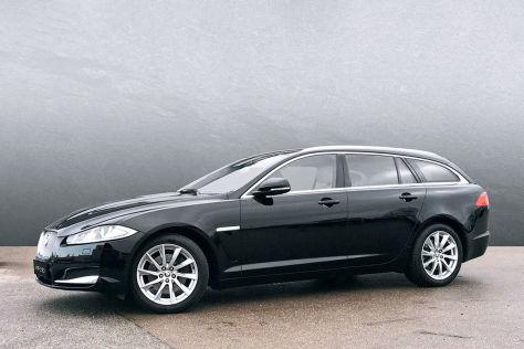 Jaguar XF Sportbrake 2.2d (2012): Maße, Gebraucht, Preis