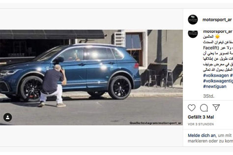 VW Tiguan Facelift (2020): Leak