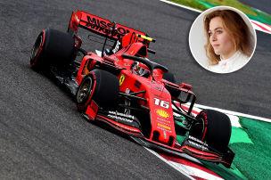Rennlady legt sich mit Ferrari an
