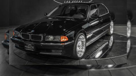 BMW 750iL aus Promi-Vorbesitz
