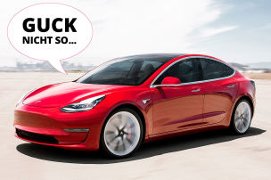 Musk bringt Model 3 das Sprechen bei