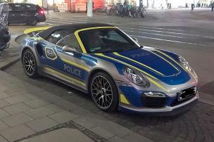 Fährt die Münchner Polizei Porsche?