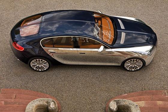 Plant Bugatti ein elektrisches Familienmodell?