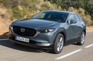 Lückenschluss bei Mazda