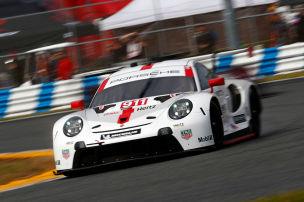 Unfall und Porsche-Doppel-Pole