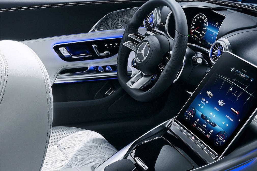 Mercedes-AMG SL Interieur.   !!! EMBARGO: 14.07.2021; 00:01h !!!