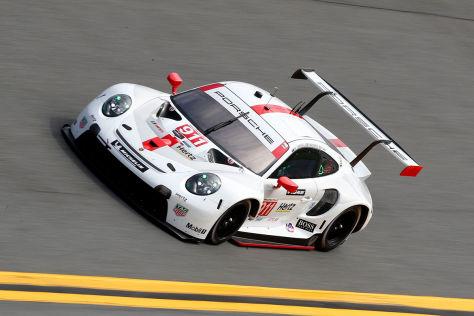 Porsche in Daytona