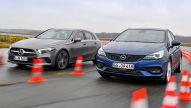 Mercedes A-Klasse, Opel Astra: Test, Motor, Preis