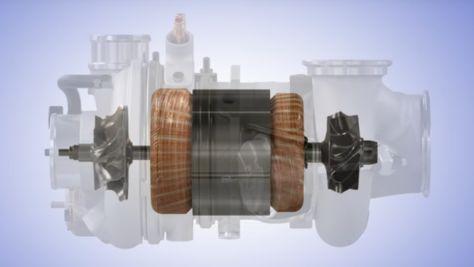 Elektro-Turbolader von Borg Warner
