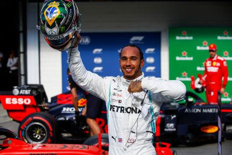 Formel 1: Neuer Hamilton-Vertrag