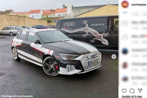 Audi S3 (2020): Leak, A3, Motor, Sportback, Optik