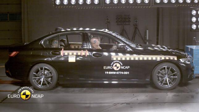 BMW 3er crasht bei Euro NCAP