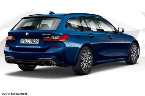 BMW 3er G20/G21 M340d (2020): Leak, Diesel, M-Paket
