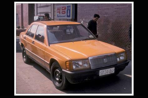 Kaengsaeng 88: Mercedes 190-Nachbau