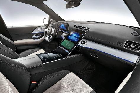Mercedes-Benz S-Klasse W223 (2020): Innenraum, MBUX, Display