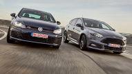 Gebraucht: VW Golf GTI & Ford Focus ST