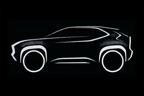 Toyota Yaris-SUV (2020): Hybrid, Vorschau, Kleinwagen