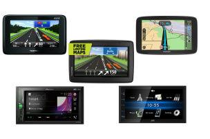Navi-Geräte und Radios zum Spar-Preis
