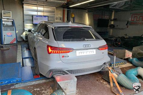 Audi RS6 Avant Tuning: MTM Software-Update