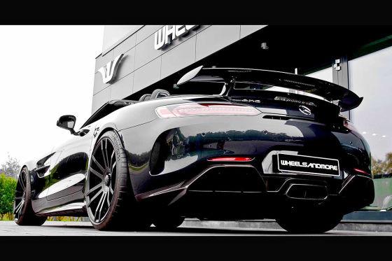 Drei Leistungskits für den AMG GT R