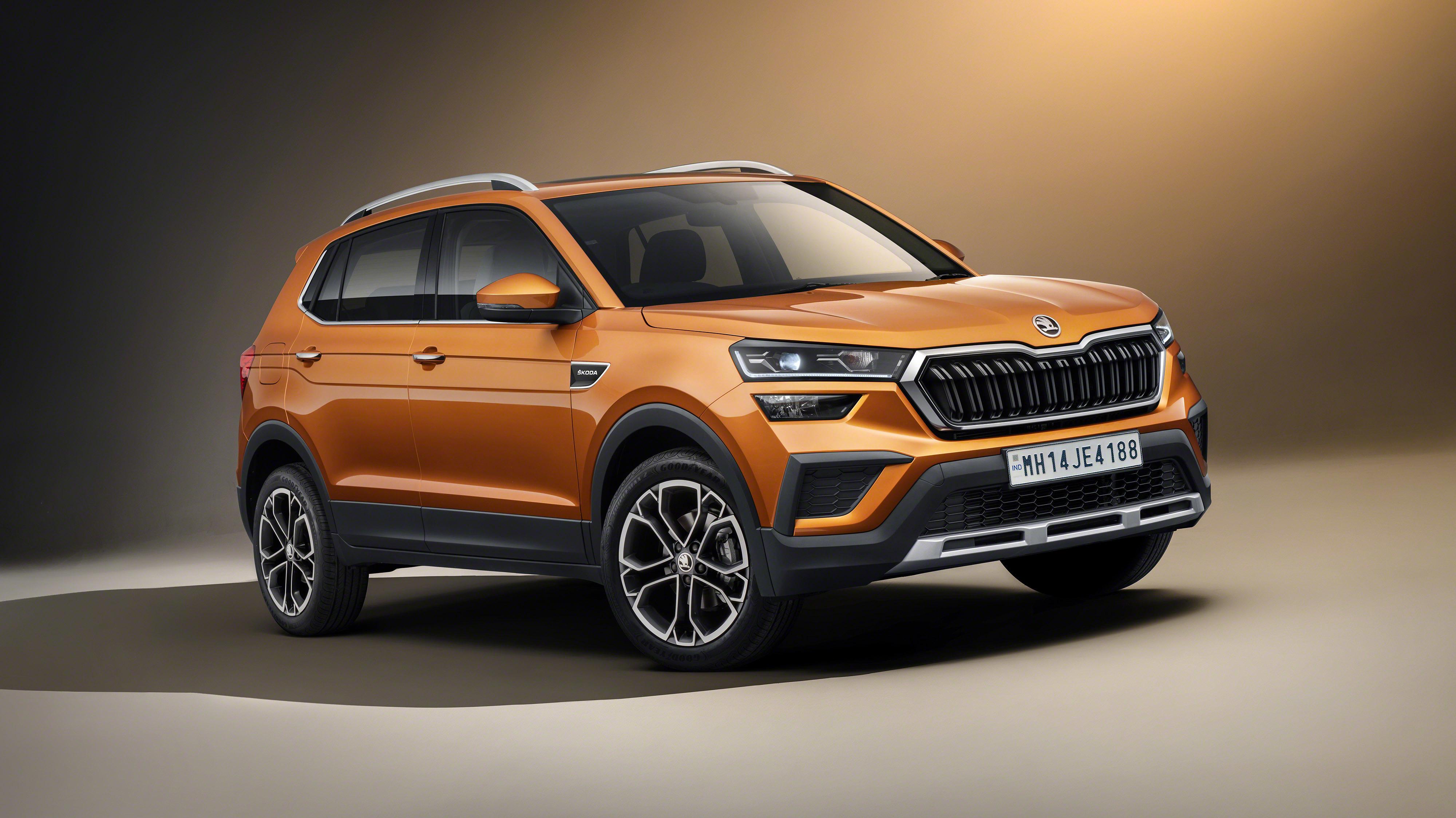 Skoda Kushaq (2021): SUV für Indien mit Ablage für ...