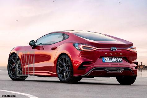 Neuer Ford Puma als Sportcoupé wäre super scharf! - autobild.de
