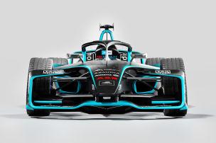 So sieht der neue Rennwagen aus