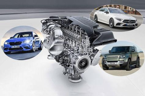Reihensechszylinder: Hersteller, Modelle